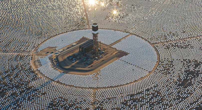Biggest-ever solar thermal power plant goes online in California