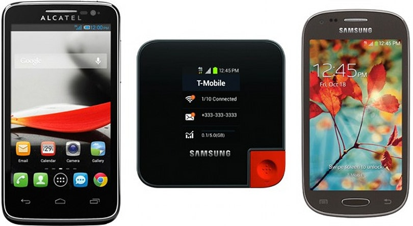 T-Mobile launches trio of budget Android smartphones and an LTE hotspot