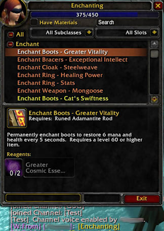Tradeskill links coming in Wrath
