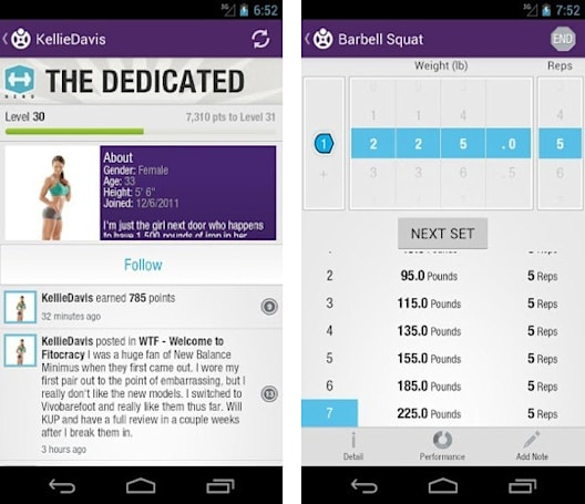 Fitocracy arrives for Android users needing an exercise level-up