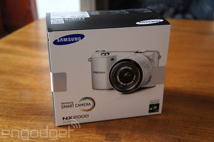 Engadget UK Giveaway: Win a Samsung NX2000 courtesy of Ebuyer.com
