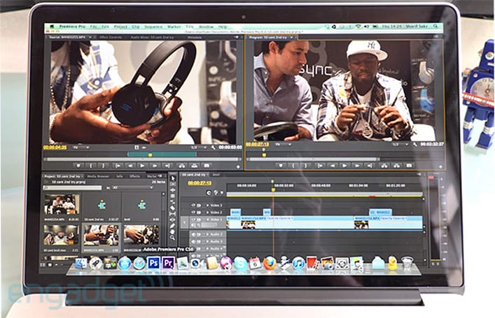 Adobe Premiere Pro CS6 now fully supports Retina MacBook Pro: both HiDPI and GPU compute