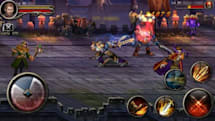 Sidescrolling MMO Excalibur available for download on Android devices