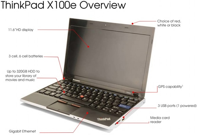 Lenovo's ThinkPad X100e gets detailed: AMD Neo-based, not a netbook