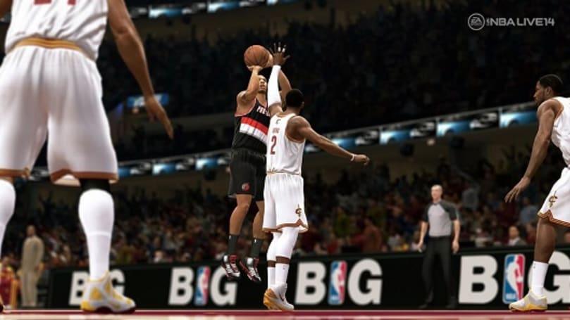 NBA Live 14 hitting the court November 19