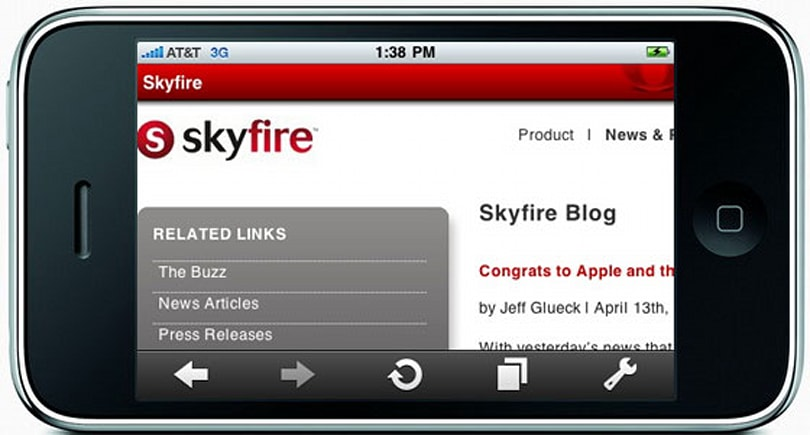 Skyfire boss on possible iPhone port: 'stay tuned for news'