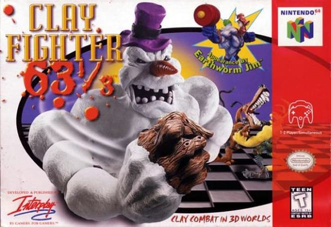 Interplay bringing ClayFighter to WiiWare and DSiWare