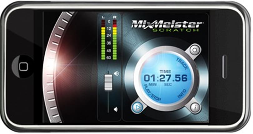 Mixmeister Scratch brings scratching to the iPhone, vinyl still cooler