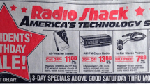 Your iPhone replaces the roomful of equipment found in this 1991 Radio Shack ad
