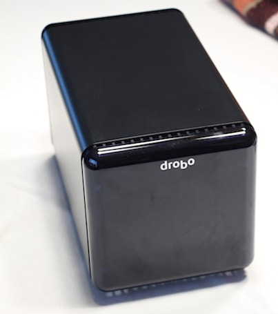 Drobo's venerable 4-bay array gains USB 3.0 speed boost