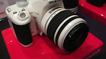 Hands-on with Pentax's new lineup, including the white Pentax K2000