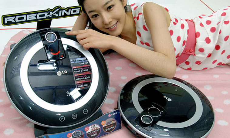 LG RoboKing adds second camera, seeks to escape Roomba shadow