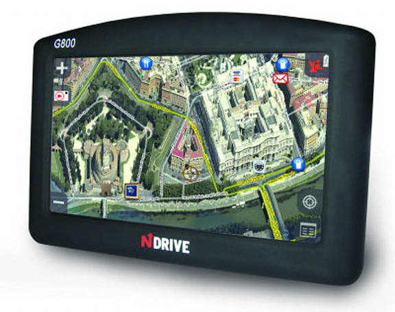 NDrive intros photo mapping G280, G800 GPS units