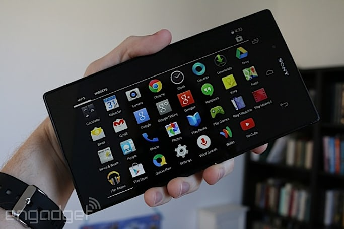 Sony Z Ultra Google Play edition hands-on