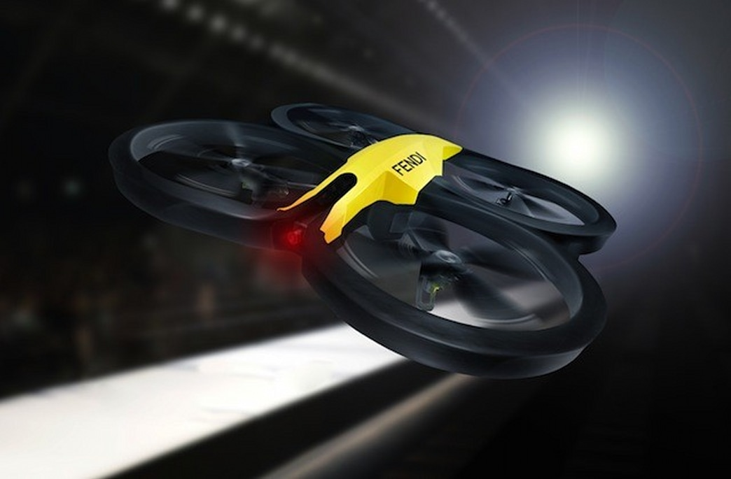 The latest Fashion Month runway gimmick: Actual drones at Fendi