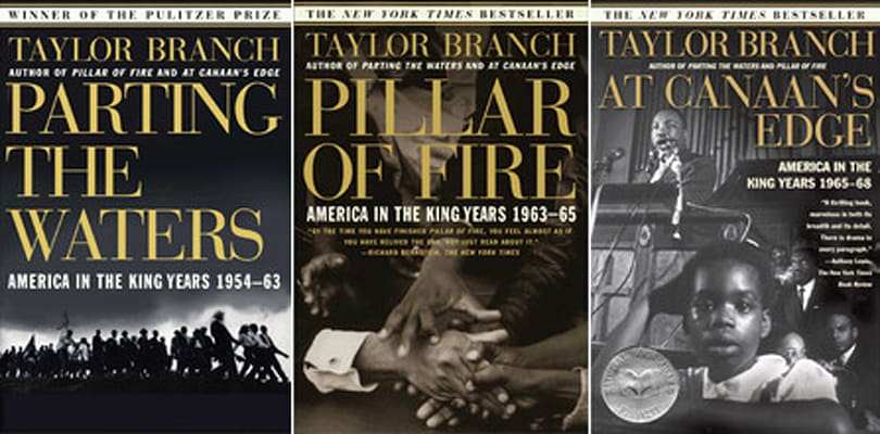 Daily App: America in the King Years trilogy by Taylor Branch