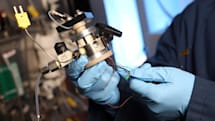 Tiny 'engine' turns natural gas into hydrogen