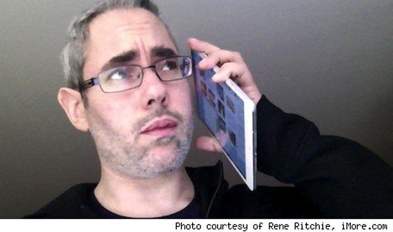 Using your iPad mini as a phone