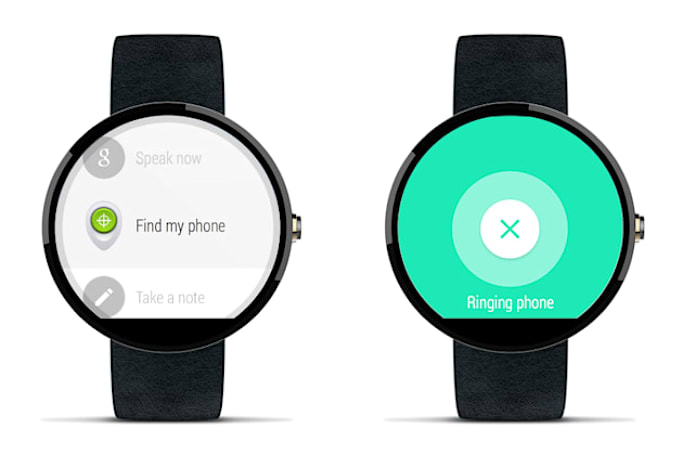 Your Android Wear watch now finds your missing phone