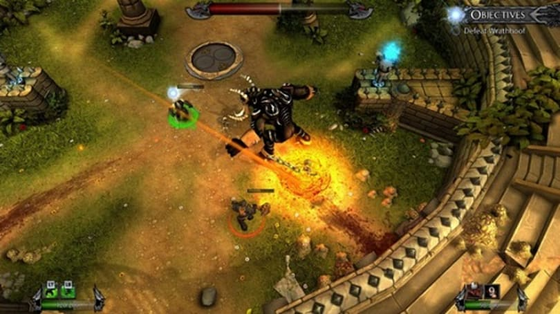 Arena combat game Forced now on Steam, 20 percent off until Halloween