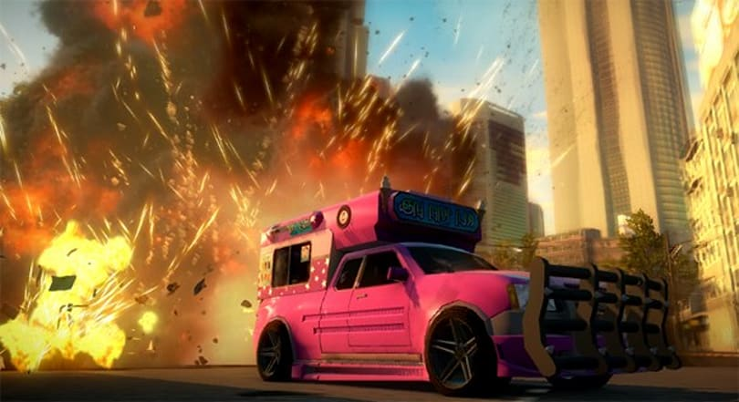 Just Cause 2 gets free 'pimped-up' ice cream truck DLC
