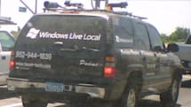 Windows Live Local SUV spotted in Sacramento
