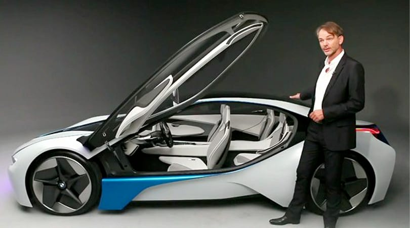 BMW's Vision EfficientDynamics concept won't look a tenth this wild when it hits the streets