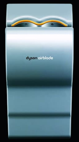 Dyson's Airblade dries hands with 400MPH blast of air