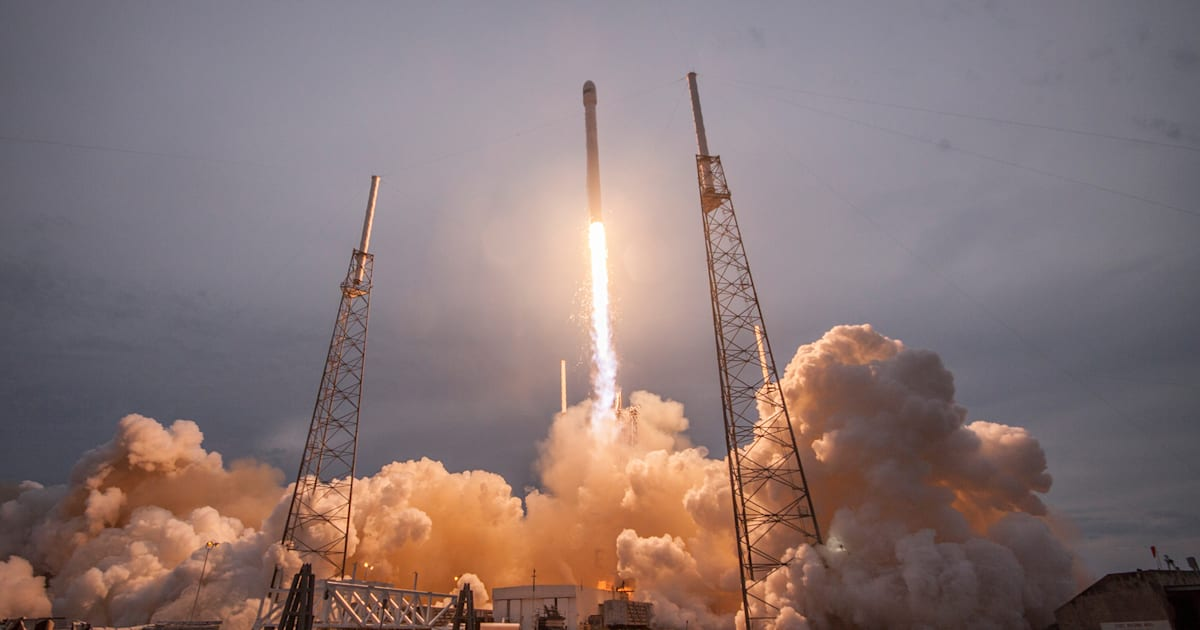 SpaceX is launching one its last disposable rockets