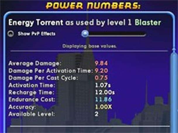 Crunch numbers like the bones of villains in City of Heroes