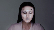 Maybe it's not Maybelline: Omote paints your face with digital makeup