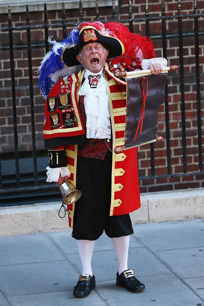The Town Crier: An Unexpected Star of the Birth of the Royal Baby