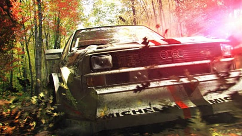 Dirt 3 screens attack the environment