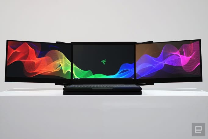 Razer's new prototypes stolen from CES booth (update)
