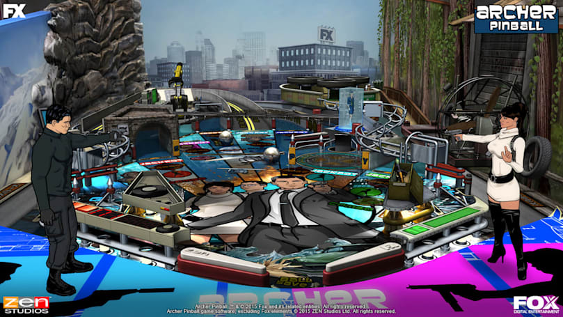 How Twitter helped make the 'Archer' pinball game a reality