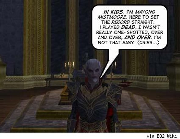 SOE caught red-handed: EQ2 Player / Dev relationship breached ethical boundaries