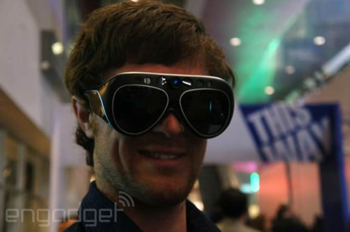 The MetaPro glasses do some pretty amazing things with augmented reality