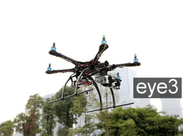 eye3 hexicopter helps your DSLR take flight for $999