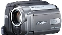 """JVC's GD-D850 """"Baby Movie' camcorder with man-sized 35x zoom"""