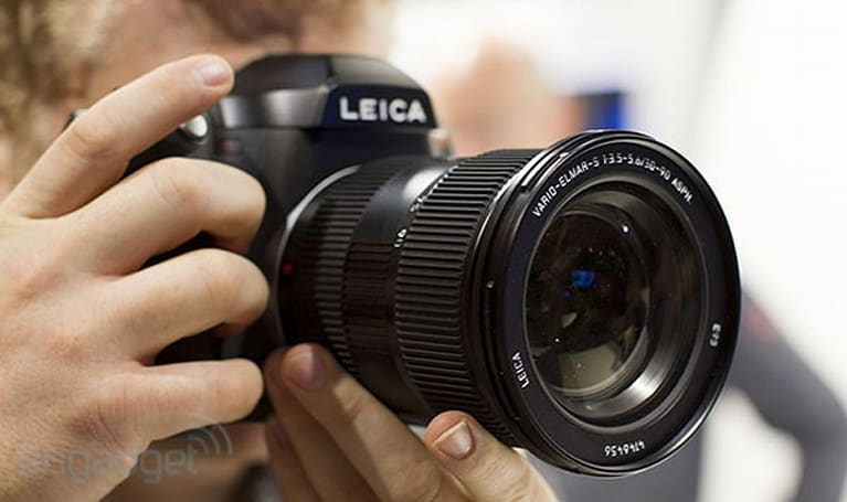 Leica S-System hands-on (video)