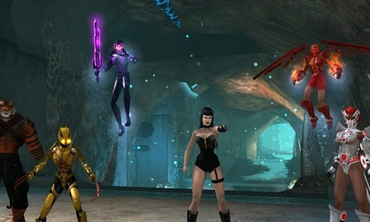 Take a walk through the underground in City of Heroes