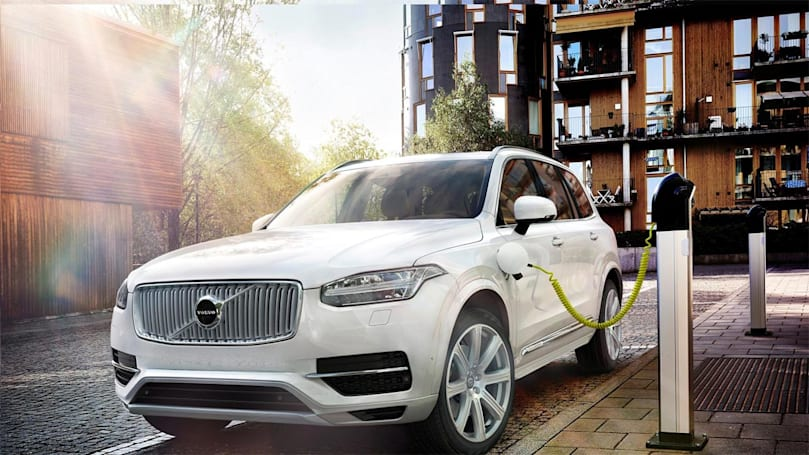 Volvo's first fully electric car will arrive in 2019