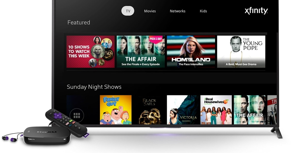 Comcast's Xfinity TV app for Roku starts beta testing