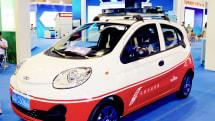 Baidu's all-electric self-driving car is a modified Chery EQ