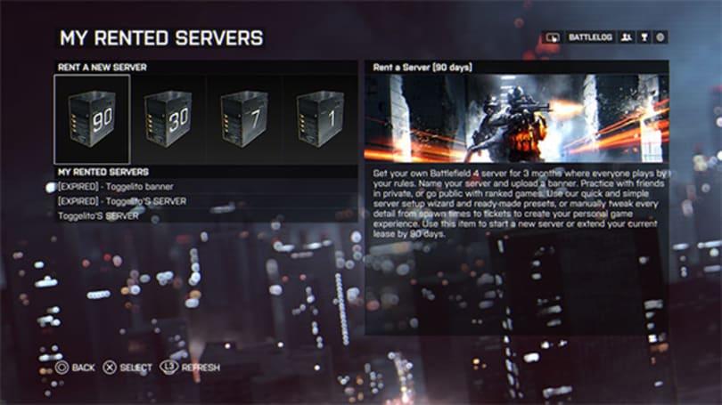 Battlefield 4 adds server rental service, patches 'death shield'