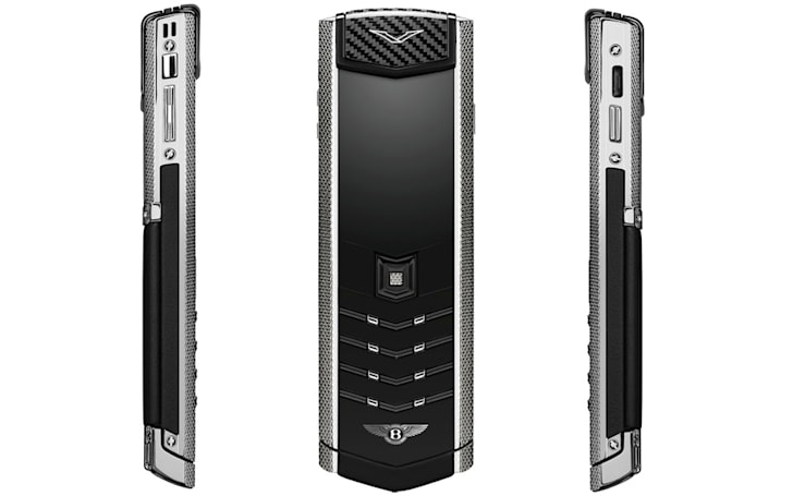 Vertu's latest 'basic' luxury phone goes well with your Bentley