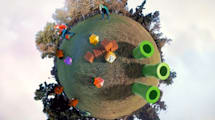 Super Mario Galaxy als Real-Life-Version auf Little Planets