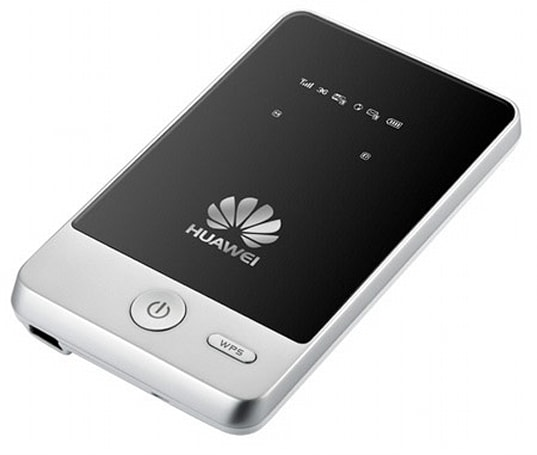 Huawei's E583C mobile hotspot: looks so good, you'll wish it weren't portable