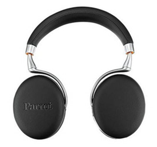Parrot Zik 3 Leather-Grain Wireless Bluetooth Noise Cancelling Headphones