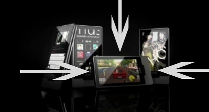 Zune HD promo video offers first glimpse of gaming